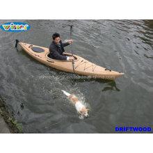 3.44mtr Imitation von Holz-Korn Deck Einzel-Touring Kajak