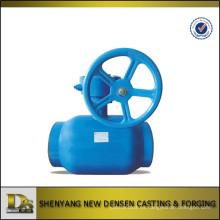 DN50 válvula de bola de hierro dúctil de tipo cerrado