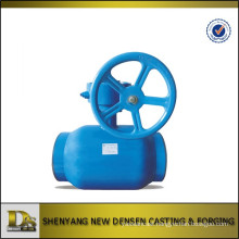 DN50 closed type ductile iron ball valve