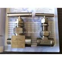 Válvula de agulha de alta pressão Union-Bennet