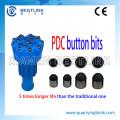 Кнопка Диаманта PDC биты для бурения горных пород