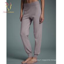 Pantalons de jogging de mode causale de femmes Pantalons de jogging de vente en gros