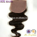 Gros Stock Vierge Cheveux Ombre Cheveux Extension Dentelle Fermeture