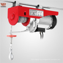 PA100 PA200 PA500 PA1000 PA1200 100kg to 1200kg portable PA Mini electric wire rope hoist crane