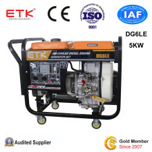 5kw Red Color Home Use Power & Generating Sets