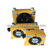 12v / 24v DC hydraulic oil cooler with fan for concrete pump