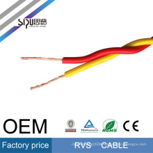 SIPU RVS flexible 450/750V PVC twisted 0.5mm square cable wire electrical