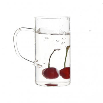 Single Wall Custom Glass Mugs For Tea