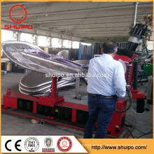2015 Best Price CNC dished head spinning machine/automatic dished edge flanging machine