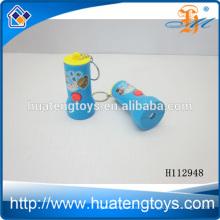 Heißer Plastik opel Schlüsselkette, Solar LED Taschenlampen Schlüsselkettenkurbel H112948
