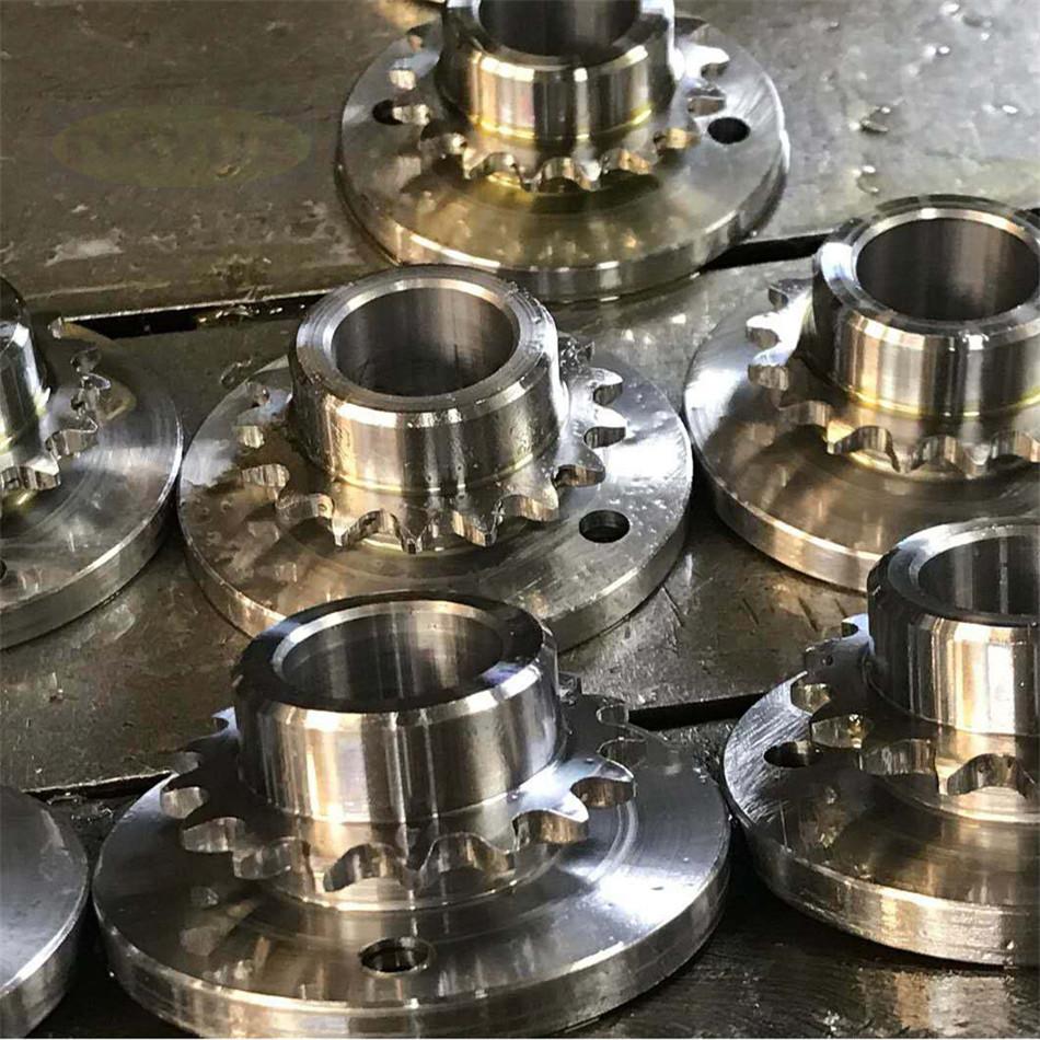 CNC Precision Components Gear & Gear shaft