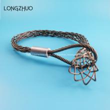 Medias de cable Calcetines Cuerda de alambre Malla Tirando Empuñaduras