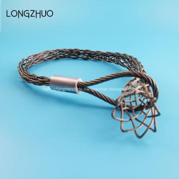 Single Eyes Edelstahl Wire Mesh Cable Socks