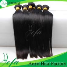 7А прямо девственные человеческие волосы утка бразильского Виргинские волосы