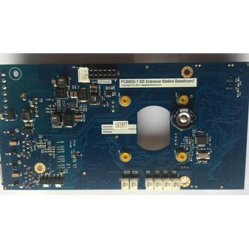 Entrance stataion PCB assembly