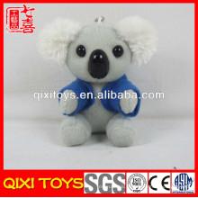 China fábrica T-shirt koala urso brinquedo de pelúcia koala keychain