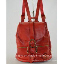 Ladies Fashion Genunie Leather Backpack for Travelling (ZX10002)