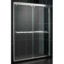 Shower Door Glass (SD-300 white aluminum)