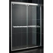 Vidro de porta de chuveiro (alumínio branco SD-300)