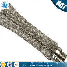 6'' 12'' Stainless steel bho extractor tube kettle screen mash tube bazooka screen