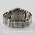 resilient wristband watch men stainless steel band