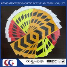 Pfeilförmige Fahrzeuge PVC Reflektierende Aufkleber