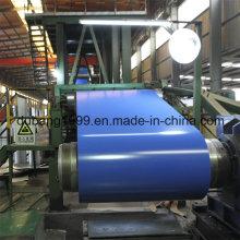 Color de la fábrica de la fabricación del boxeo cubrió PPGI bobinas construcción