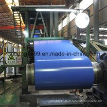 Bobines d'acier galvanisées pré-peintes dans la largeur 900-1250mm