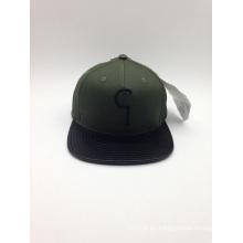 Casquillo lleno de encargo del Snapback de la calidad de Fashiontop (ACEK0110)