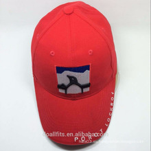 Emboridery alto de Qulity y con el casquillo de encargo del deporte del estilo del panel del logotipo del emboridery hecho en China