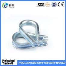 Dedal galvanizado eléctrico de la cuerda de alambre DIN6899A
