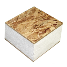 Paneles con aislamiento estructural orientados a OSB
