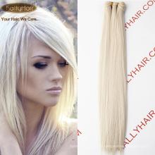 100Cheap Remy Cheveux Brésiliens Vierge 5A- 10A # 60 Cheveux Blanc Tissage Droite Corps Vague Top Qualité