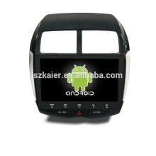 GPS,DVD,radio,bluetooth,3g/4g,wifi,SWC,OBD,IPOD,Mirror-link,TV for mitsubishi-asx