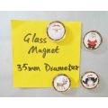 Christmas Glass Magnet