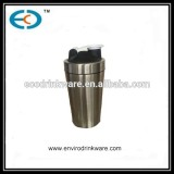 740ml stainless steel Custom Protein Shaker Bottle