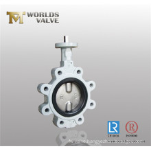 Bare Stem Lugger Type Butterfly Valve