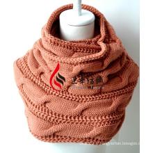 Châle en acrylique tricoté (12-BR201712-1)