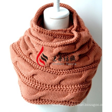 Acrylic Knitted Shawl (12-BR201712-1)