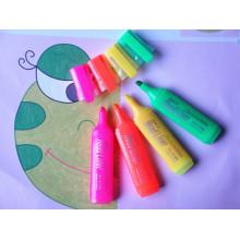 Marcador fluorescente de la pluma del mini Highlighter promocional multi del color