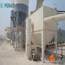 Ciclón Colector de polvo, filtro de bolsa de polvo para planta de cemento