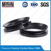 Vedação de água com carga pesada V Tipo de anel Fim da face final