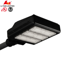 UL DLC Adjustable 150watt 210watt led street light public lamp parking lot led lighting