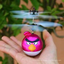 Nova rc animados voador pássaro pássaro do rc avião remoto sensoriamento panfleto de pássaro