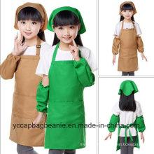 100%Polyester Promotion Children Blank Apron