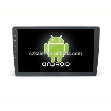 10,1 pouces lecteur tactile dvd universel voiture, navigation stéréo de voiture avec wifi, lien miroir, tuner radio FM Am