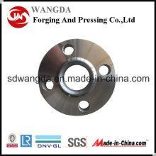 JIS acier au carbone 40k Slip-on Soudage Flas de tuyaux en acier