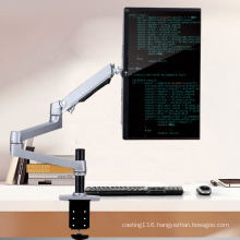 OEM ODM 360 Degree Rotatable Metal Aluminum Monitor Stand Extendable Arm Bracket For Monitor