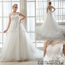 Fornecedores da China alibaba vestido de noiva branco em dubai