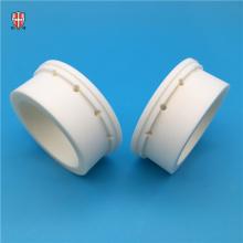 Peças de usinagem de moagem de cerâmica de alumina OEM